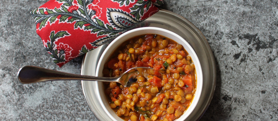 Lazy Lentils in under 15 Minutes