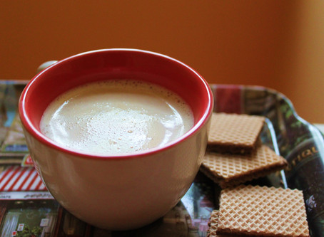 Cardamom Nut Milk  (Kid-friendly coffee)