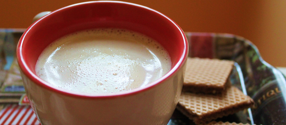 Cardamom Nut Milk  (Kid-friendly coffee)