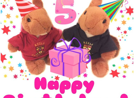 Happy Birthday to Our Youngest Team Members