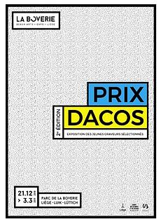PRIX DACOS: 2n edition