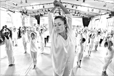 """""""Table Of Silence"""" choreography by Jacqulyn Buglisi.   Photo: Paul B. Goode."""