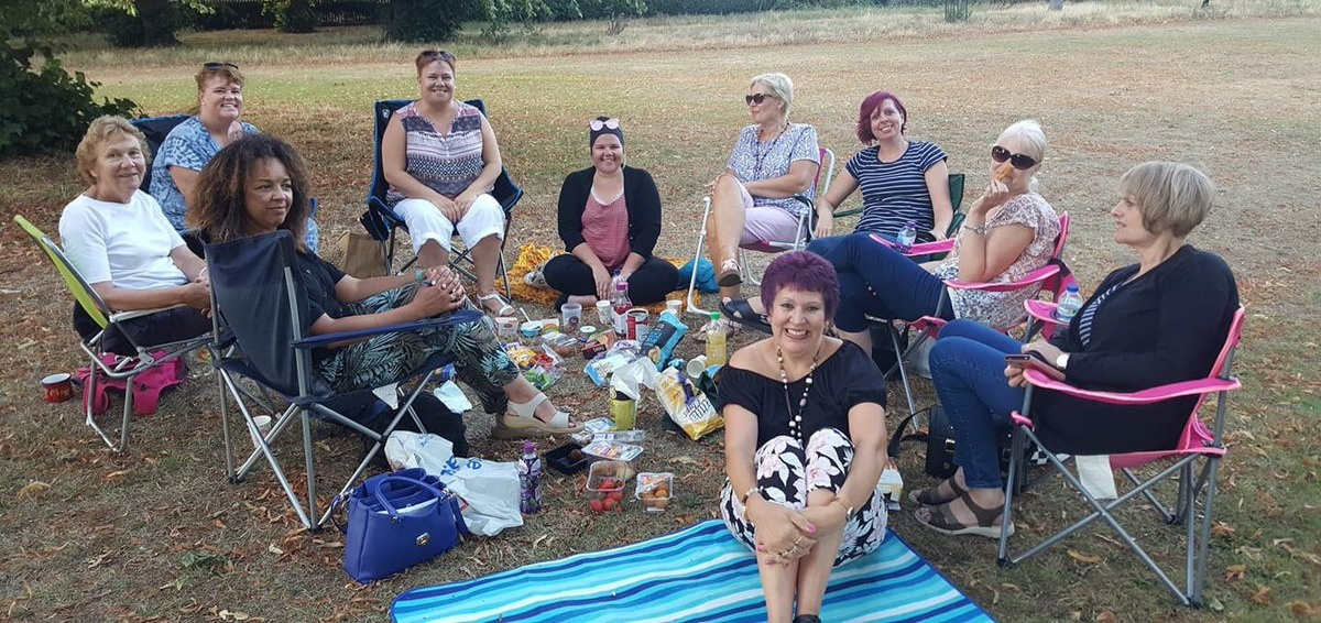 Altos' Sectional in the Park Aug