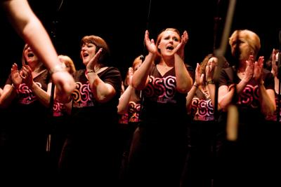 The joy of singing in a choir