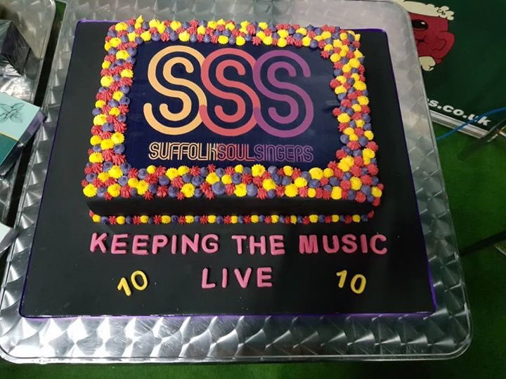 Our fantastic birthday cake