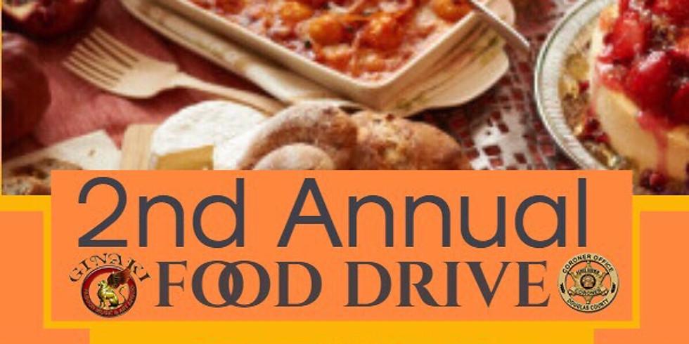 2nd Annual Food Drive