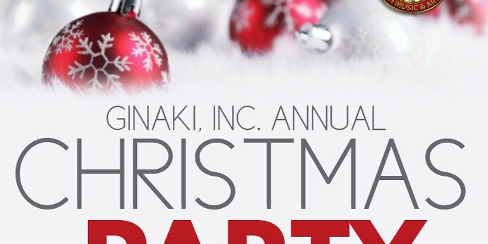 Ginaki Christmas Party