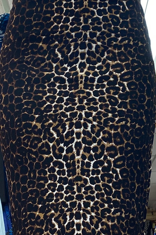 Leopard 2pc Skirt Set