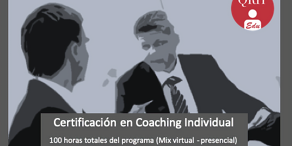 Programa de Certificación en Coaching Individual (CDMX)