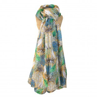 Alliums multi print scarf