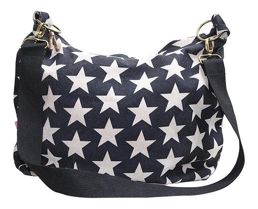 Star cord sling bag