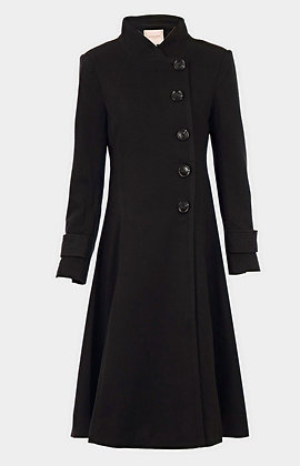 Classic coat in black