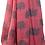 Thumbnail: Oak print scarf in crimson