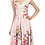 Thumbnail: Floral swing dress in pink