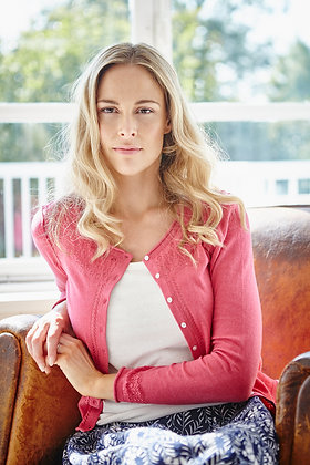 Alfresco cardigan in pink