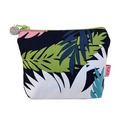 Tropical  multi colour mini purse