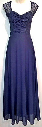 Gillian gown in navy
