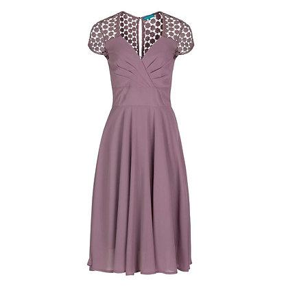Fiona dress in dusty pink
