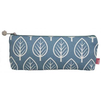 Leaf print pencil case