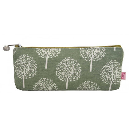 Mulberry pencil case in green