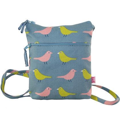 Birdie mini bag in blue