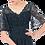 Thumbnail: Lace overlay midi dress in navy