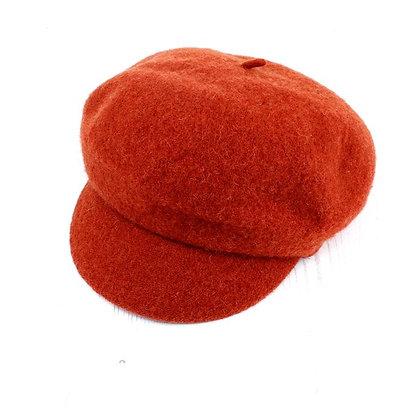 Baker Boy cap in rust