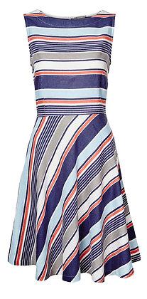 Turnout stripe dress