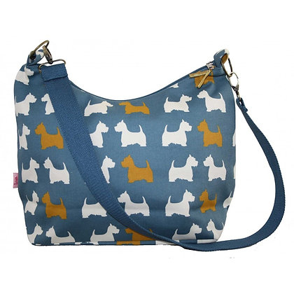 Scottie dog sling bag