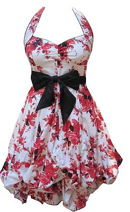 Portia dress in red