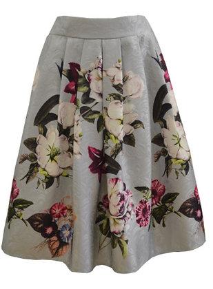 Silver butterfly skirt