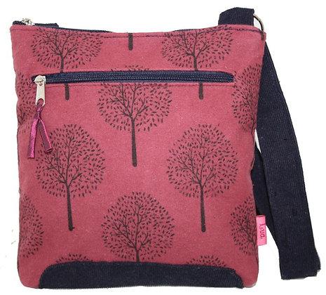 Mulberry crossbody bag in plum