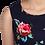 Thumbnail: Navy roses dress