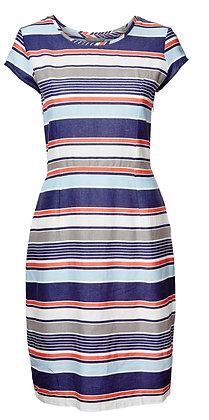 St Agnes stripe dress