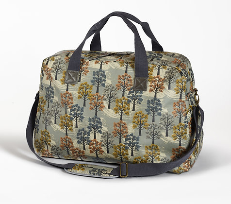 Willow oilcloth overnight bag