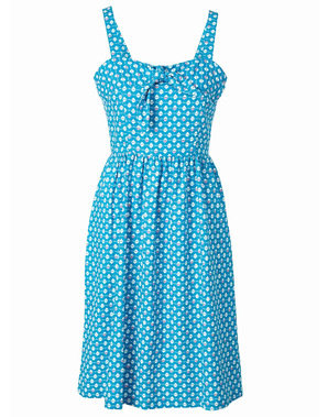 Falmouth Sundress in turquoise