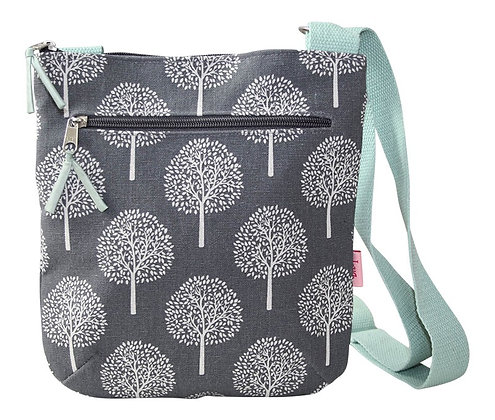 Mulberry crossbody bag in grey