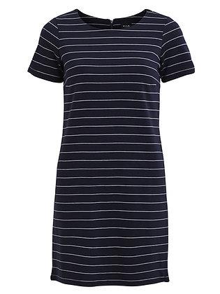 Vitinny stripe dress in navy