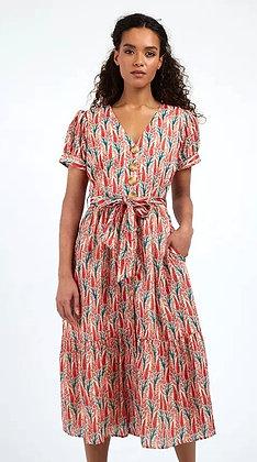 Hollyhock midi shirt dress