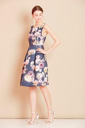 Fairytale floral dress navy