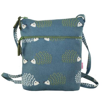 Hedgehog mini bag in teal