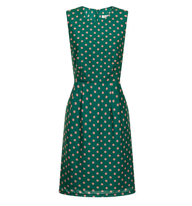 Matilda dress in green