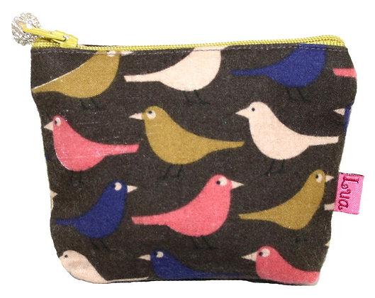 Birdy multi colour mini purse