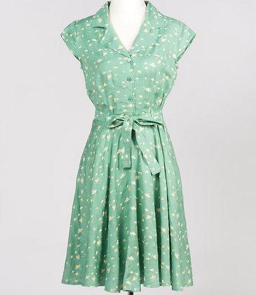 Daisy shirt dress in mint green