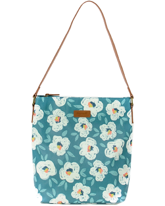Hobo Bag Painterly Floral