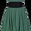 Thumbnail: Darcie dress in moss green