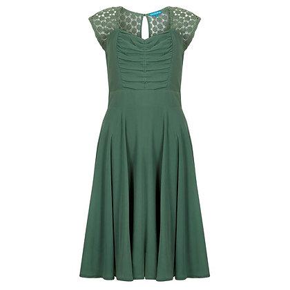 Gillian dress in green