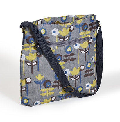 Scandi oilcloth crossbody bag
