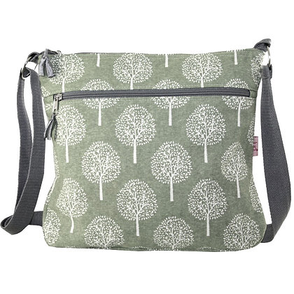 Mulberry messenger bag in green