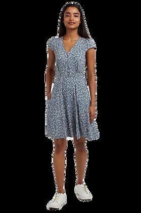 Cathleen dress in Cornflower blue